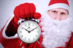 prochain moment de Noël Images libres de droits