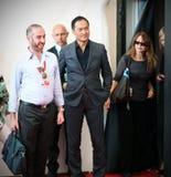Prochaine séance photo de attente au soixante-dixième festival de film de Venise Photographie stock libre de droits