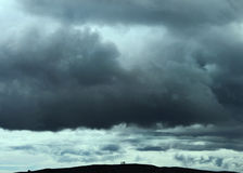 prochaine tempête Photographie stock