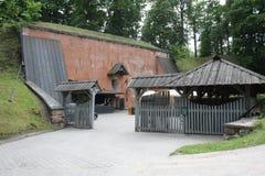 Prochu loch Tartu Estonia (PÃ ¼ ssirohkukelder) Fotografia Royalty Free