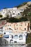 Procida, île en mer Méditerranée Image stock