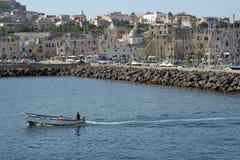 procida острова гавани стоковое изображение rf