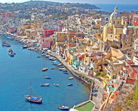 Procida Royalty Free Stock Photos