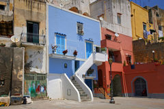 Procida, Beautiful island in the mediterranean sea Stock Photos