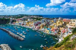 Procida beautiful island Stock Photography