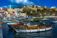 Procida beautiful island Royalty Free Stock Images