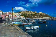 Procida beautiful island Stock Photos