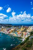 Procida beautiful island stock images