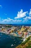 Procida beautiful island Stock Image