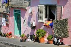 Procida, belle île en mer Méditerranée photographie stock