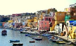 Procida, Campania, Italy stock image