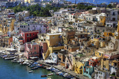 Procida Corricella Royalty Free Stock Images