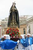 PROCIDA EASTER Good Friday Procession Royalty Free Stock Images