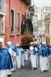 PROCIDA EASTER Good Friday procession stock image