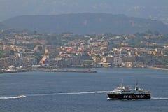 Procida-Hafen stockfoto