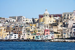 Procida Harbour Royalty Free Stock Photography