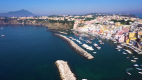 Procida Insel, Italien stock video