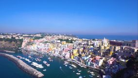 Procida Insel, Italien stock video footage