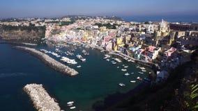 Procida Insel, Italien stock footage
