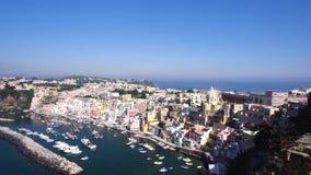 Procida Insel, Italien stock video footage