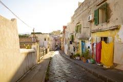 Procida island in Italy Stock Photos