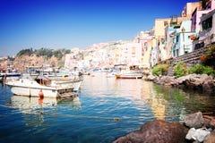 Procida island, Italy Stock Images