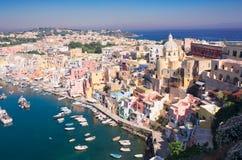 Procida island, Italy Stock Photography