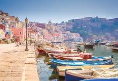 Procida island, Italy Royalty Free Stock Photos