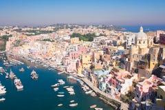 Procida island, Italy Stock Image