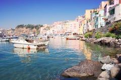 Procida island, Italy Royalty Free Stock Images