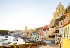 Procida island in Italy Royalty Free Stock Photography