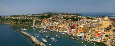 Procida, island in the mediterranean sea Stock Photography