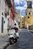 Procida island view of an alley Stock Photo