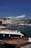 Procida, Marina Chiaiolella, Naples - Napoli - Italy Royalty Free Stock Photo