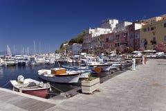Procida, Nápoles, Italy Imagens de Stock