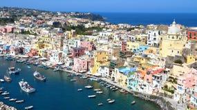 Procida, Naples, Italie images stock