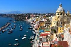 Procida, Naples, Italy Royalty Free Stock Photo
