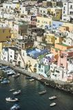 Procida is one of the Flegrean Islands off the coast of Naples i royalty free stock photography