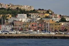 Procida Porto, Naples - Napoli - Italie Photo stock