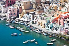 Procida view Stock Photography