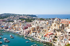 Procida view Royalty Free Stock Images