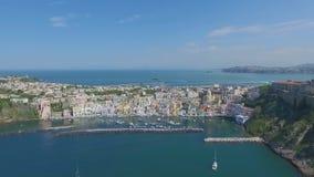 Procida, Włochy anteny wideo zdjęcie wideo