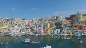 Procida, Włochy anteny wideo zbiory