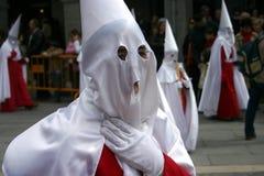 Procissão de Easter em Segovia, Fotografia de Stock Royalty Free