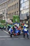 Procissão do carnaval Imagens de Stock