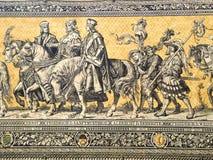 Procissão dos príncipes (parte) Imagem de Stock