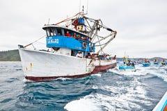 Procissão marinha Fotografia de Stock