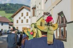 Procissão Oberperfuss de Maria Ascension, Áustria. foto de stock royalty free