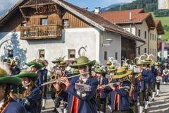 Procissão Oberperfuss de Maria Ascension, Áustria. foto de stock