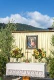 Procissão Oberperfuss de Maria Ascension, Áustria. fotografia de stock